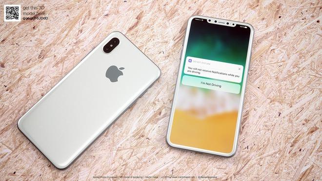Tận mắt ngắm iPhone 8 màu đen và màu trắng đẹp rụng rời, bạn thích chiếc nào hơn? - Ảnh 8.