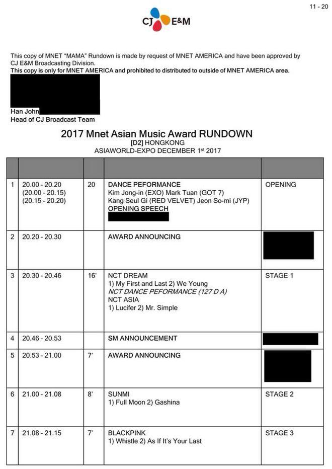 MAMA 2017 tiếp tục rò rỉ danh sách nghệ sỹ biểu diễn toàn tên tuổi khủng - Ảnh 1.