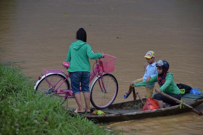 Chùm ảnh: Ninh Bình nhiều nơi nước ngập quá 2m, đường vào khu du lịch Bái Đính bị cô lập - Ảnh 20.