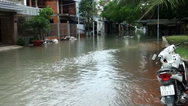 Nước nhấn chìm cả trăm xe máy, ô tô trong chung cư - ảnh 9