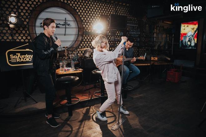 Saturday Radio: Min lần đầu hát Có Em Chờ phiên bản Acoustic - Ảnh 5.