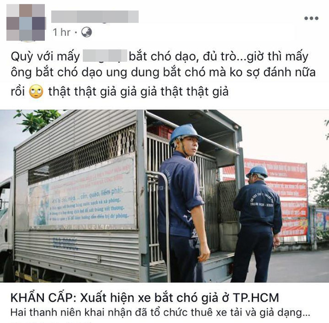 Xuất hiện thông tin bịa đặt Xe bắt chó giả ở TP HCM khiến nhiều người hoang mang - Ảnh 4.