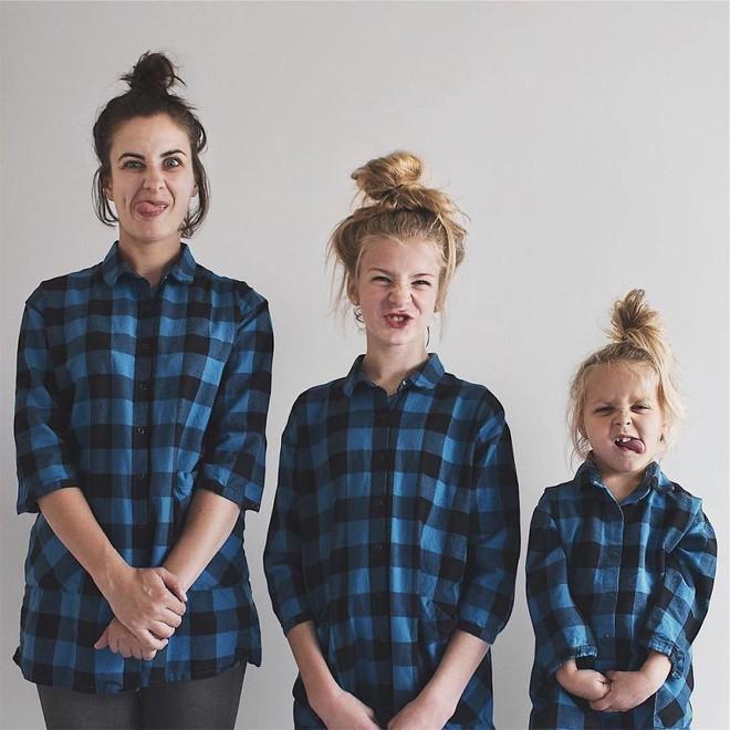 Nhà có 3 nàng tiên: Từ mẹ tới con đều xinh hết nấc và mặc đồ cực chất - Ảnh 11.