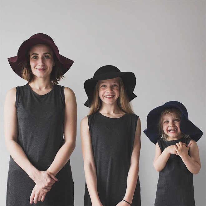 Nhà có 3 nàng tiên: Từ mẹ tới con đều xinh hết nấc và mặc đồ cực chất - Ảnh 10.