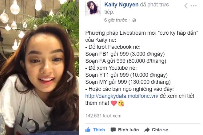 """Kaity Nguyễn livestream """"bật mí"""" nhiều tin hot khiến fan """"phát cuồng - Ảnh 6."""