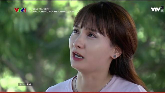 """""""Sống chung với mẹ chồng"""" tập 19: Cuối cùng thì bà Phương cũng khóc nghẹn và xin lỗi mẹ chồng! - Ảnh 6."""