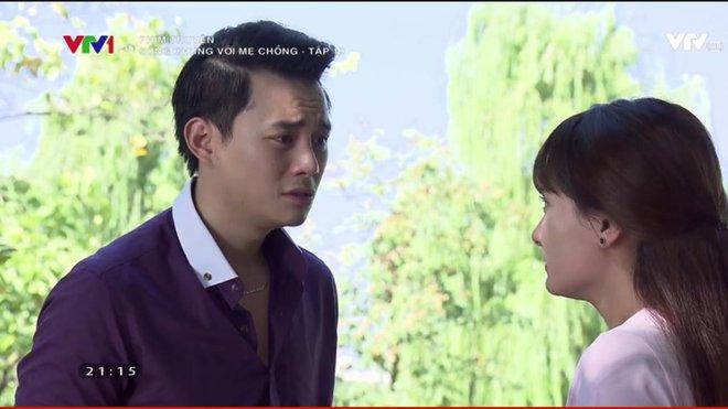 """""""Sống chung với mẹ chồng"""" tập 19: Cuối cùng thì bà Phương cũng khóc nghẹn và xin lỗi mẹ chồng! - Ảnh 7."""