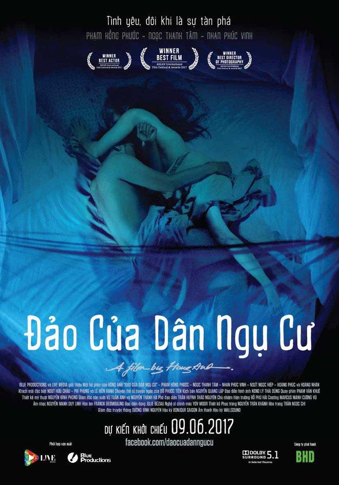 Đảo của dân ngụ cư chính thức khởi chiếu ở Việt Nam sau khi trôi khắp trời Âu - Ảnh 1.