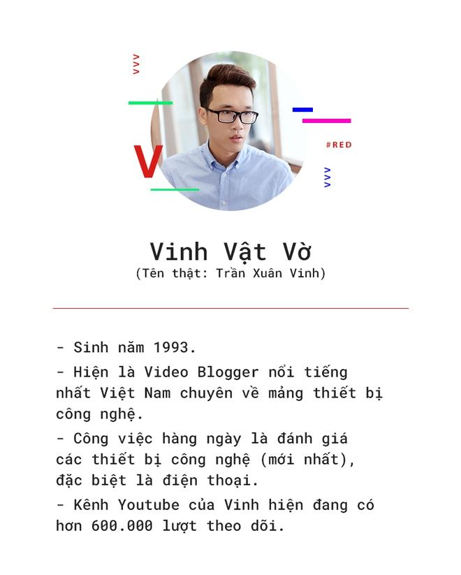 Vinh Vật Vờ: Từ gã trai giọng quê làm clip cho đến thần tượng review công nghệ nổi tiếng nhất Việt Nam - Ảnh 2.