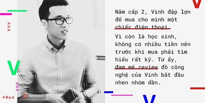 Vinh Vật Vờ: Từ gã trai giọng quê làm clip cho đến thần tượng review công nghệ nổi tiếng nhất Việt Nam - Ảnh 3.