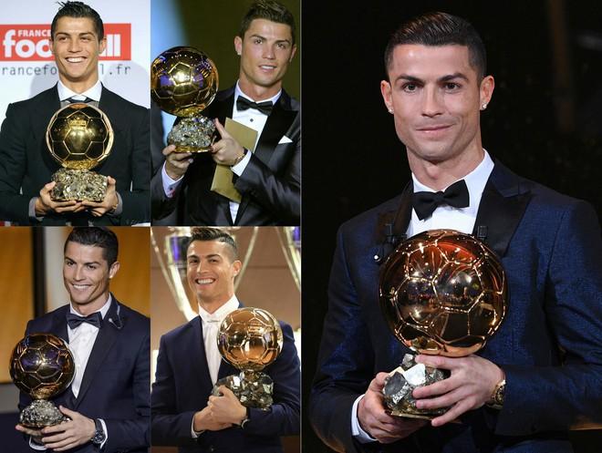 Ronaldo giành Quả bóng vàng 2017, cân bằng kỷ lục của Messi - Ảnh 2.