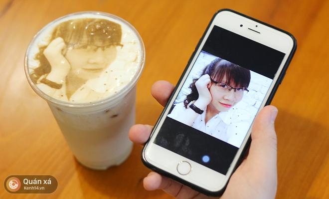 In ảnh lên trà sữa: món mới toanh đầy ảo diệu ở Hà Nội - Ảnh 6.