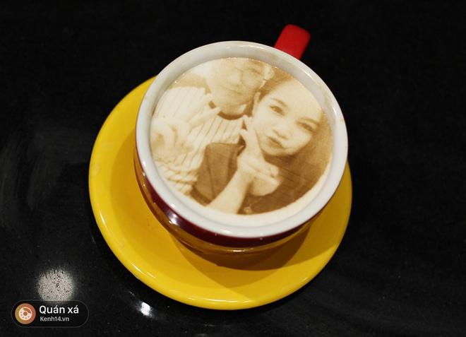 In ảnh lên trà sữa: món mới toanh đầy ảo diệu ở Hà Nội - Ảnh 12.