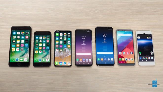 iPhone 8 đọ dáng với loạt bom tấn smartphone chất nhất hiện nay, thật sự quá ấn tượng!