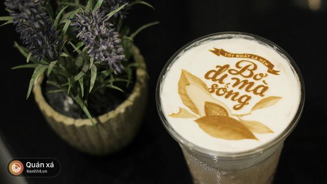In ảnh lên trà sữa: món mới toanh đầy ảo diệu ở Hà Nội - Ảnh 11.