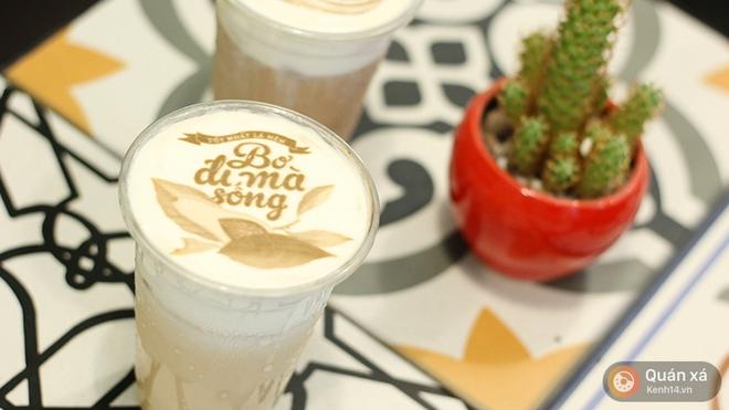 In ảnh lên trà sữa: món mới toanh đầy ảo diệu ở Hà Nội - Ảnh 3.