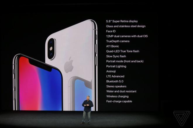 TRỰC TIẾP: Bom tấn iPhone X vừa được Apple giới thiệu với thiết kế không có gì bất ngờ - Ảnh 2.