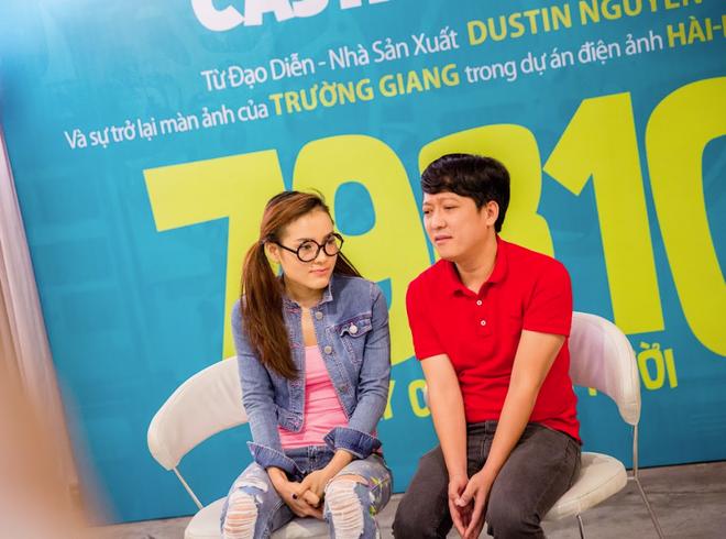 Trường Giang hành hạ Jolie Phương Trinh trong buổi casting phim mới - Ảnh 6.