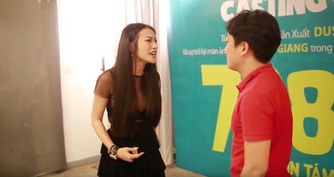 Trường Giang hành hạ Jolie Phương Trinh trong buổi casting phim mới - Ảnh 4.