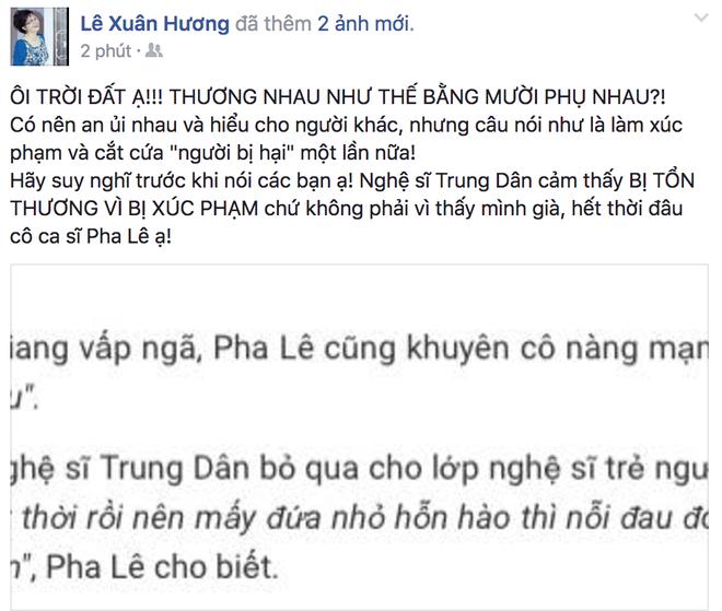 Phát ngôn không cẩn trọng, Pha Lê bị Xuân Hương sửa lưng - Ảnh 1.