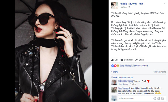Angela Phương Trinh rút lui khỏi She Was Pretty phiên bản Việt vì không tìm được tiếng nói chung với nhà sản xuất - Ảnh 1.