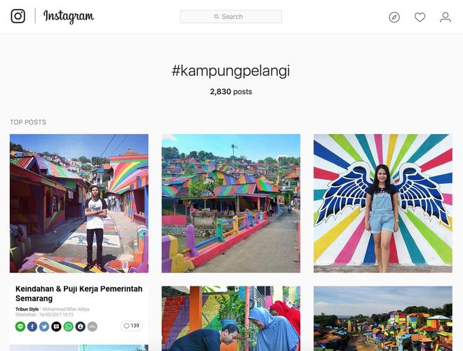 Cận cảnh Làng Cầu Vồng đang gây bão Instagram: Ngập tràn sắc màu tha hồ sống ảo, và rất gần Việt Nam đấy! - Ảnh 4.