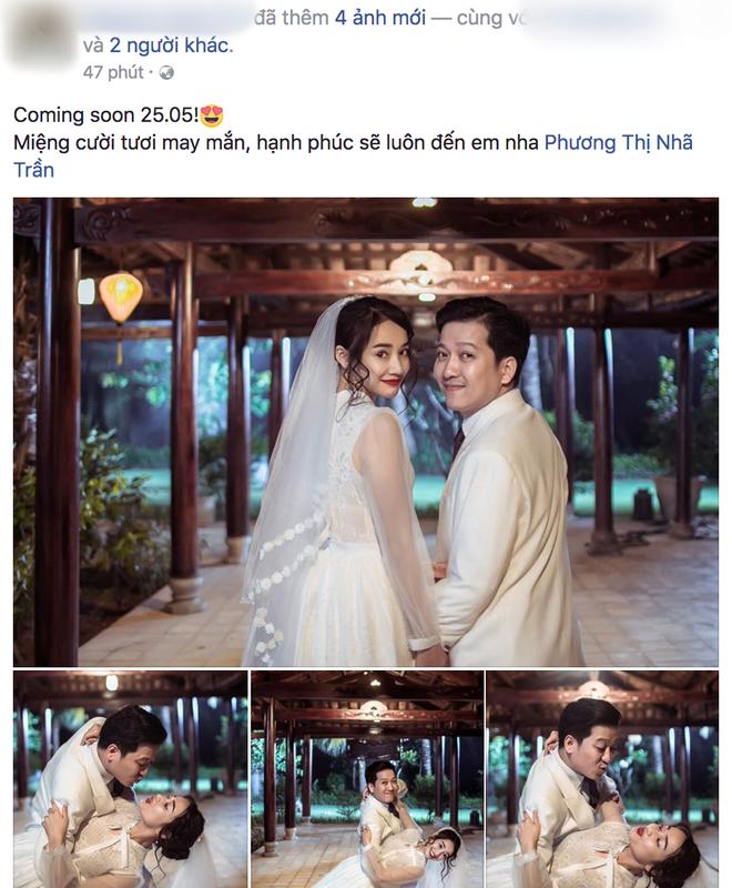 Lại thêm loạt ảnh Trường Giang và Nhã Phương mặc đồ cưới gây xôn xao cộng đồng mạng - Ảnh 1.