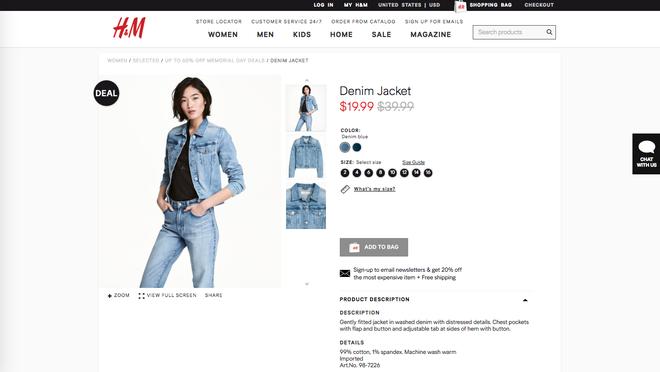 Chỉ từ 110.000 VND là bạn mua được hàng hiệu vì H&M đang sale rẻ lắm luôn - Ảnh 1.
