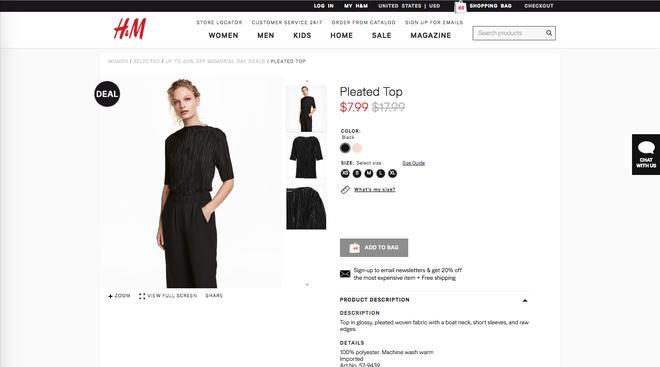 Chỉ từ 110.000 VND là bạn mua được hàng hiệu vì H&M đang sale rẻ lắm luôn - Ảnh 2.