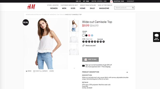 Chỉ từ 110.000 VND là bạn mua được hàng hiệu vì H&M đang sale rẻ lắm luôn - Ảnh 4.
