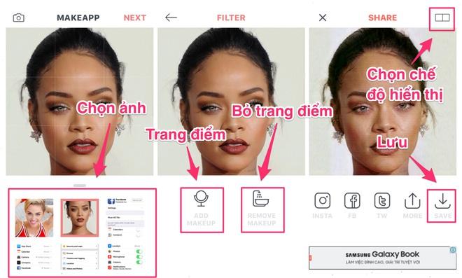 Bạn không tin ảnh trên mạng vì trang điểm quá ảo? Đây là app sẽ cho bạn thấy mặt mộc của bất kì ai - Ảnh 2.