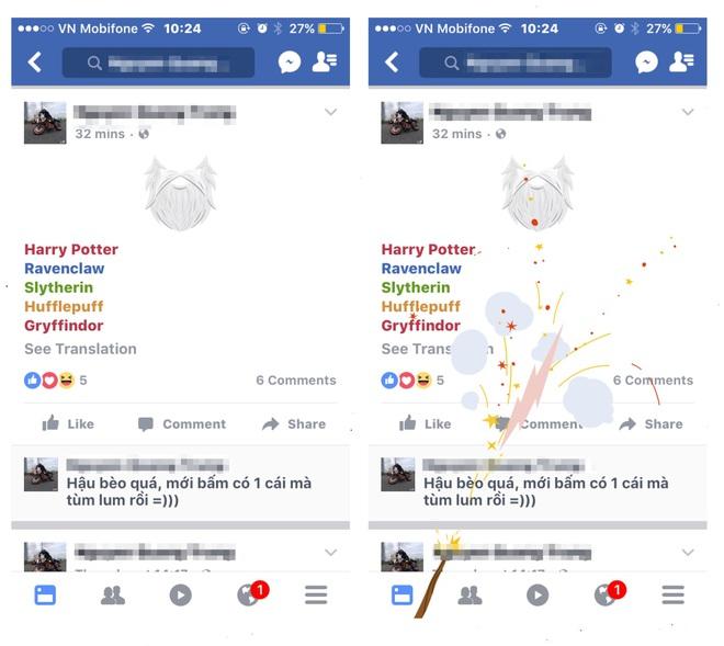 Để kỷ niệm 20 năm ra mắt Harry Potter, Facebook đã cho chúng ta làm phép ngay trên News Feed - Ảnh 2.
