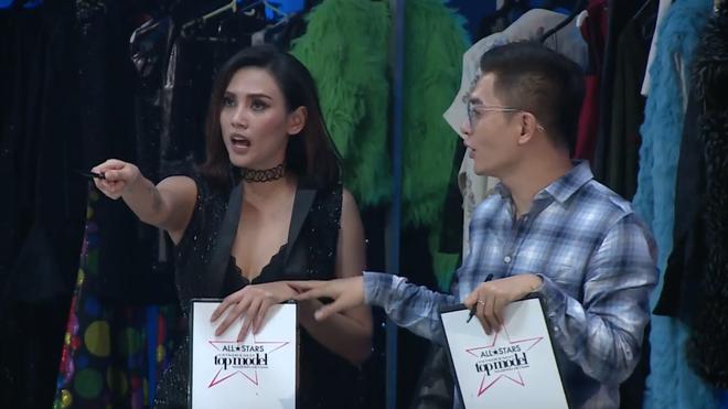 Võ Hoàng Yến giận dữ, chỉ thẳng mặt thí sinh Next Top vì nhai kẹo cao su - Ảnh 4.
