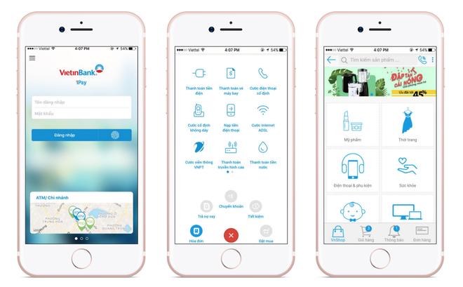 """Xuất hiện app di động """"thần thánh"""" của ngân hàng - Ảnh 2."""