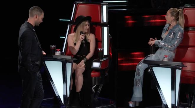 Lần đầu tiên trong lịch sử The Voice, Miley Cyrus chốt team 100% là nữ! - Ảnh 3.
