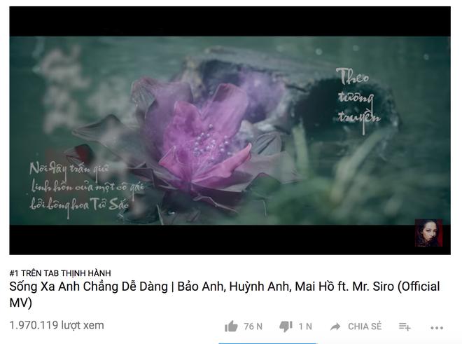 Giải mã sức hút MV liêu trai cổ trang của Bảo Anh: Chưa đầy 1 ngày cán mốc 1 triệu lượt xem, dẫn đầu Trending Youtube - Ảnh 2.