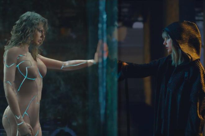 Bị tố khỏa thân hoàn toàn trong MV mới, Taylor Swift tung ảnh hậu trường khiến anti-fan im miệng