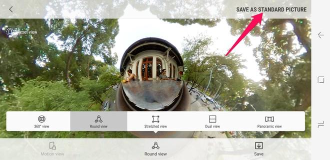 Hướng dẫn dùng Gear 360 2017 để cho ra những bức ảnh hình cầu độc nhất vô nhị - Ảnh 7.