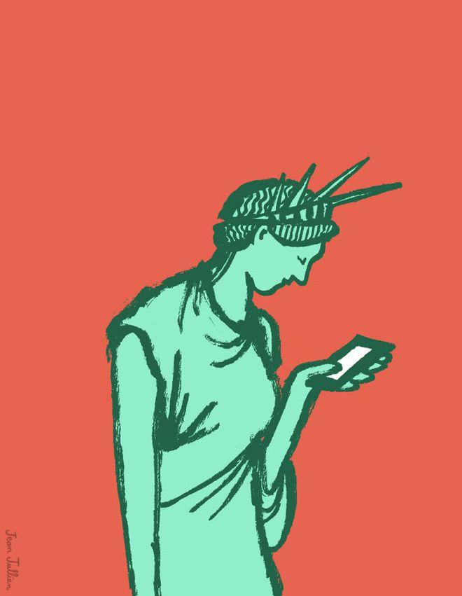 Sững sờ khi nhìn thấy 21 bức ảnh châm biếm về tình trạng nghiện công nghệ của con người sau đây - Ảnh 12.