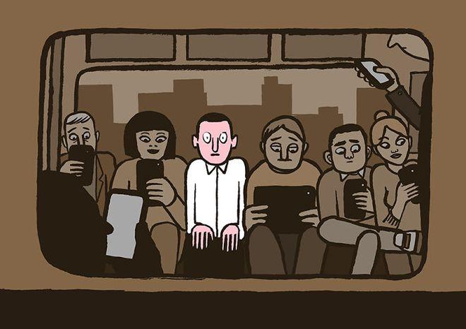Sững sờ khi nhìn thấy 21 bức ảnh châm biếm về tình trạng nghiện công nghệ của con người sau đây - Ảnh 17.