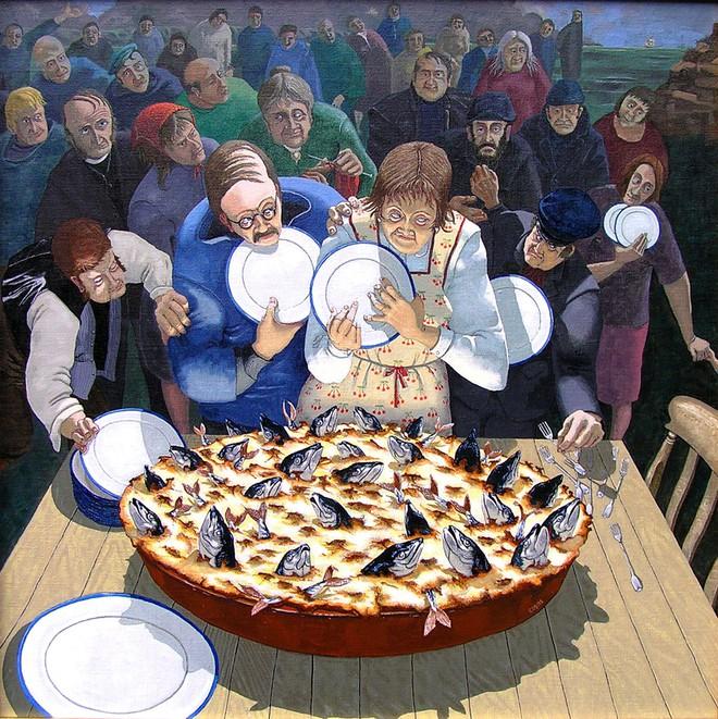 Có gì độc đáo trong chiếc bánh toàn là đầu cá ở nước Anh? - Ảnh 3.