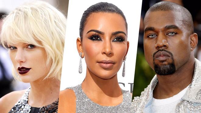 Kim đăng ảnh tượng sáp khỏa thân châm chọc Taylor Swift và fan chị Rắn đã đáp trả một cách thú vị - Ảnh 3.