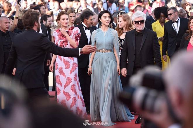 Thảm đỏ LHP Cannes: Phạm Băng Băng lộng lẫy như nữ hoàng - Ảnh 10.
