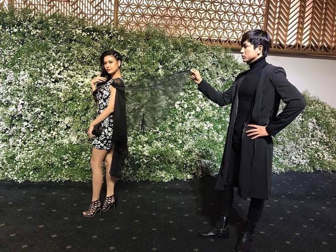 Trương Quỳnh Anh - Tim chăm diện thời trang ton-sur-ton nhất mỗi khi song hành trên thảm đỏ - Ảnh 5.