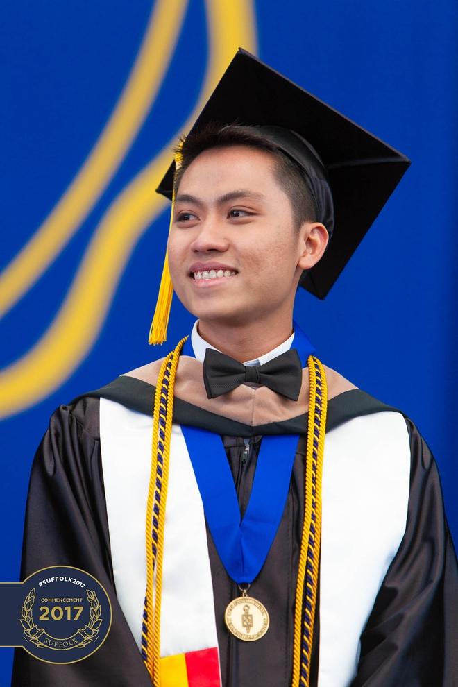 Du học sinh Việt từ bụng đói đến người duy nhất đại diện toàn trường phát biểu tại lễ tốt nghiệp - Ảnh 7.