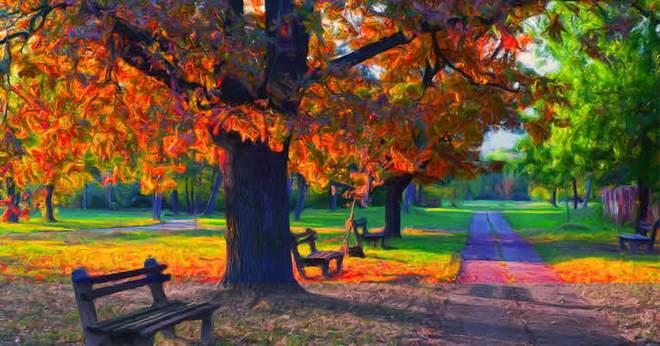Màu sắc yêu thích trong bức tranh phong cảnh tiết lộ ưu điểm tính cách của người nhìn - Ảnh 1.