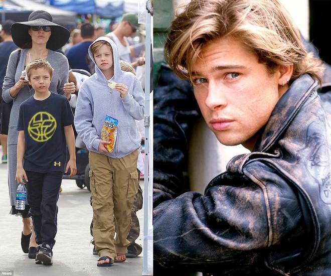 3 con ruột của Angelina Jolie và Brad Pitt: Cả bé trai lẫn gái đều nam tính, soái ca giống hệt bố - Ảnh 8.