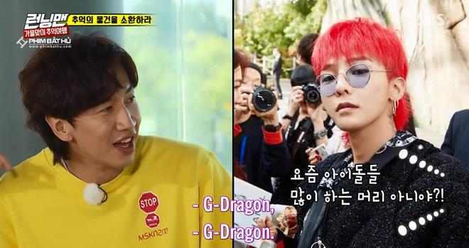 G-Dragon để tóc kiểu này thì được khen, còn Lee Kwang Soo thì ngược lại! - Ảnh 3.