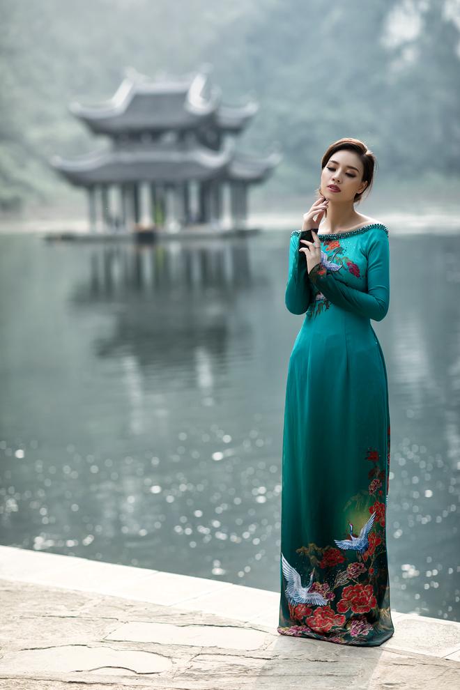 ART - Những tà áo dài mang tinh thần và vẻ đẹp của nghệ thuật - Ảnh 4.