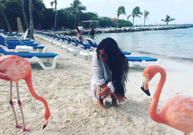 Nóng như thế này chỉ muốn đến ngay thiên đường Aruba tắm biển, thỏa thích chụp ảnh sống ảo cùng hồng hạc mà thôi! - Ảnh 13.